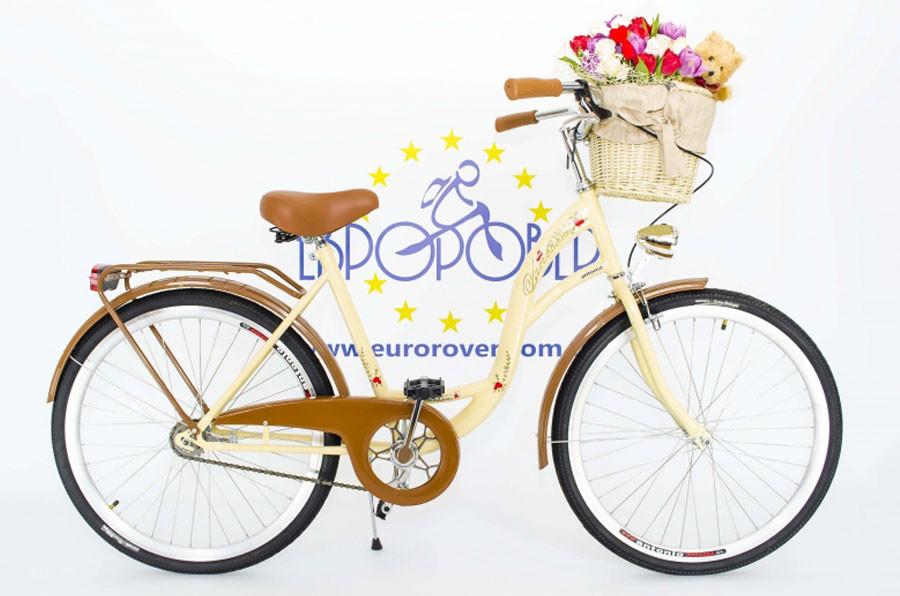 ee9cada6c89feb Велосипед VANESSA 26 Crem Польша - Інтернет-магазин Євробест в Львове