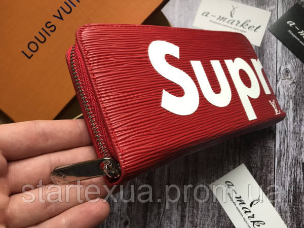 c51b4b5b9d7a5 Клатч-портмоне Louis Vuitton Supreme оригинал   продажа