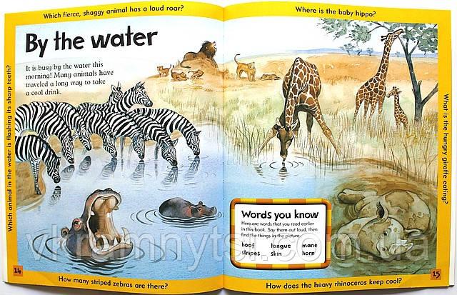 Wild Animals | «Дикі тварини». Серія: Дитячі книги англійською, Крамниця дитячих книжок ― vkramnytsi.com.ua