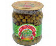 Горошек зеленый консервированный Господарочка 250 гр