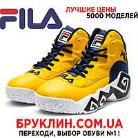 Мужские кроссовки Fila FMC Elevator-Iris, желтые   кроссовки мужские Фила,  кожаные, d63222363c9