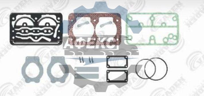 Комплект ремонтный прокладок с клапанами KNORR, DAF 85CF, F2100 (стр. каталога 2010г. 244) (стр. каталога