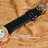 Женские наручные часы Louis Vuitton Quartz Gold White Dimond качественная копия, фото 3