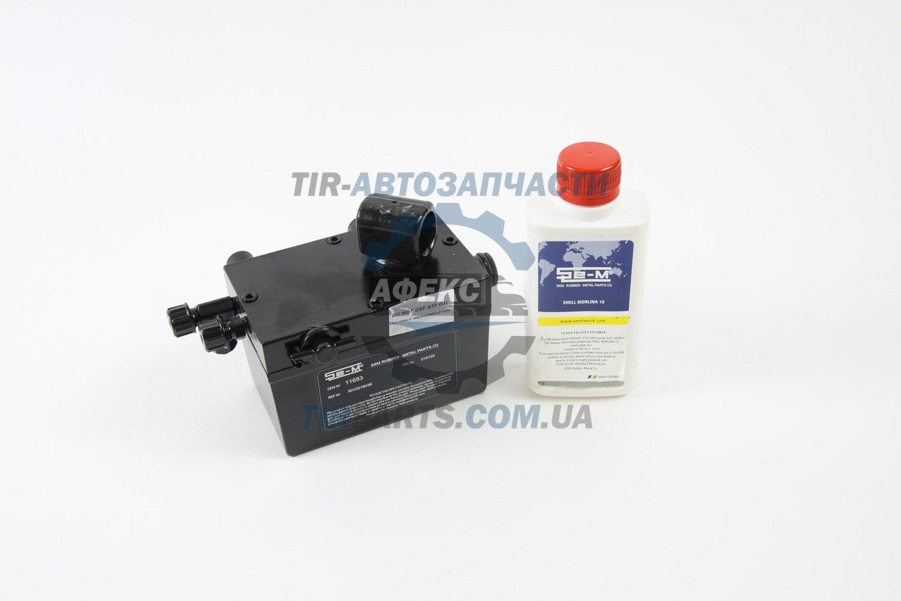 Насос подъема кабины Renault Premium, Kerax использовать с циркуляционным маслом Shell Morlina 10 или аналогом