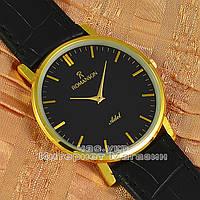 Наручные часы Romanson Adel Quartz Gold Black мужские и женские унисекс кварцевые часики реплика