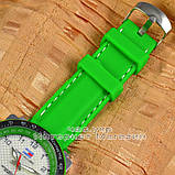 Мужские наручные часы Tommy Hilfiger Quartz Green Black White с календарем кварцевые уличный стиль реплика, фото 3