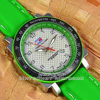 Мужские наручные часы Tommy Hilfiger Quartz Green Black White с календарем кварцевые уличный стиль реплика