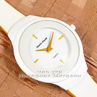 Женские наручные часы Alberto Kavalli Quartz White Gold кожаный ремешок классика повседневные люкс реплика