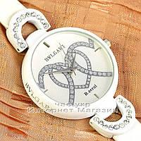 Женские наручные часы BvLgari Quartz B.rezol Lady Dimond White Булгари кварцевые люкс реплика
