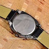 Чоловічі наручні годинники BvLgari Quartz Black White Булгарі кварцові якісна репліка, фото 2