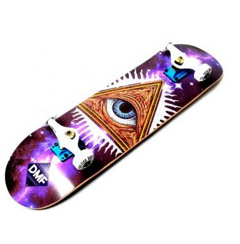 """СкейтБорд деревянный Fish Skateboard """"Eye"""""""