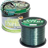 Рибальська волосінь Carp Expert Dark Green 1000м 0.35