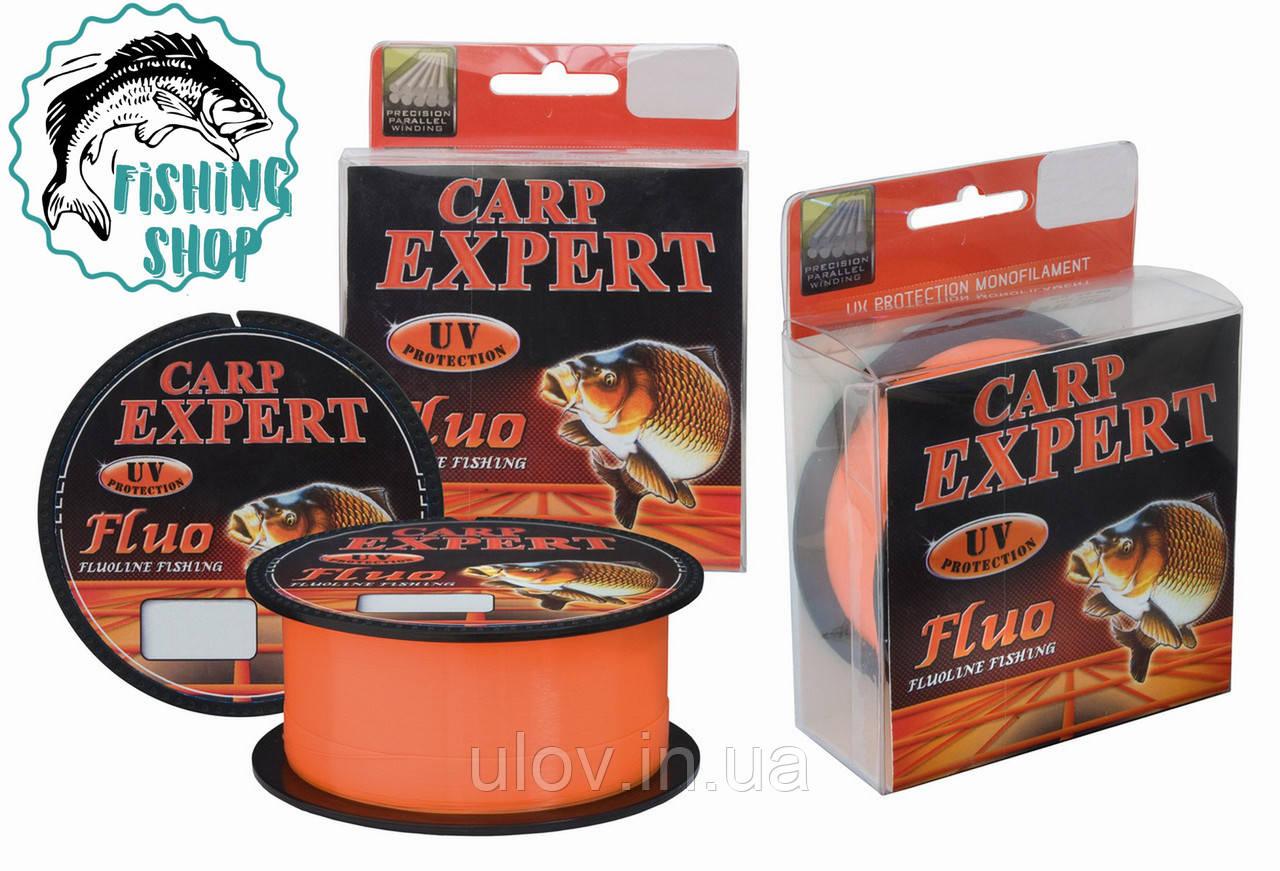 Леска рыболовная Carp Expert Fluo Orang 300m 0.30