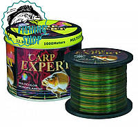Леска рыболовная Carp Expert Multicolor 1000m 0.40