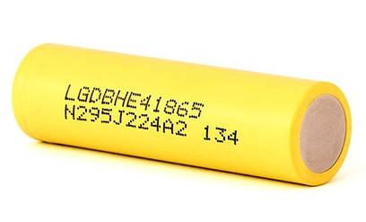 Аккумулятор к модам и варивольтам LG HE4 18650 (2500mAh, 35А)