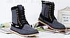 Стильные джинсовые высокие ботинки\кеды, фото 2