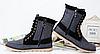 Стильные джинсовые высокие ботинки\кеды, фото 5