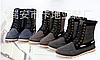 Стильные джинсовые высокие ботинки\кеды, фото 4
