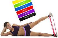 Резинки для фитнеса bodband. Набор 5шт. фитнес-резинки, резиновые петли, эспандер-кольцо, мини-лента, эспандер