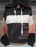 Батник с капюшоном коттоновый женский LA Original, фото 1