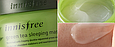 Увлажняющая антиоксидантная ночная маскаInnisfree Green Tea Sleeping Pack 80 мл, фото 2