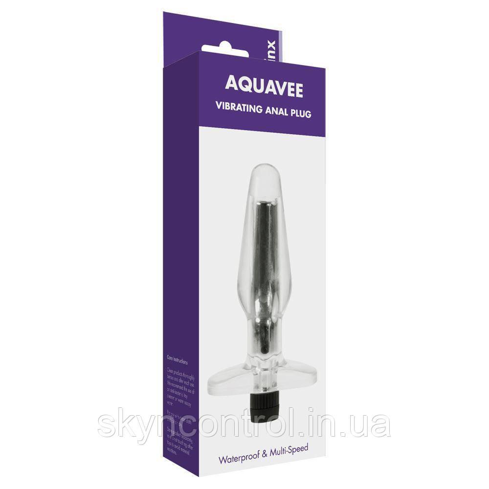Анальная пробка Aqua Vee Butt Plug