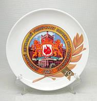 Деколирование, нанесение логотипа на посуду, печать на тарелках