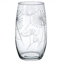 FINRIVEN  Ваза, прозрачное стекло, с рисунком, 50297923, ИКЕА, IKEA