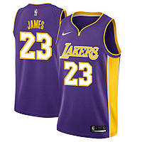 Баскетбольная майка Los Angeles Lakers (LeBron James) Purple, фото 1