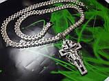 Срібний ланцюг з хрестом Рамзес, фото 2