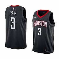 Баскетбольная майка Houston Rockets (Chris Paul) Black, фото 1
