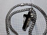 Срібний ланцюг з хрестом Рамзес, фото 6