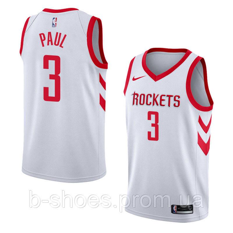 Баскетбольная майка Houston Rockets (Chris Paul) White