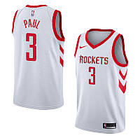 Баскетбольная майка Houston Rockets (Chris Paul) White, фото 1