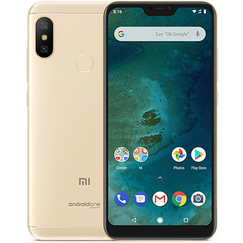 Смартфон Xiaomi Mi A2 Lite 4/64Gb Gold Global version (EU) 12 мес