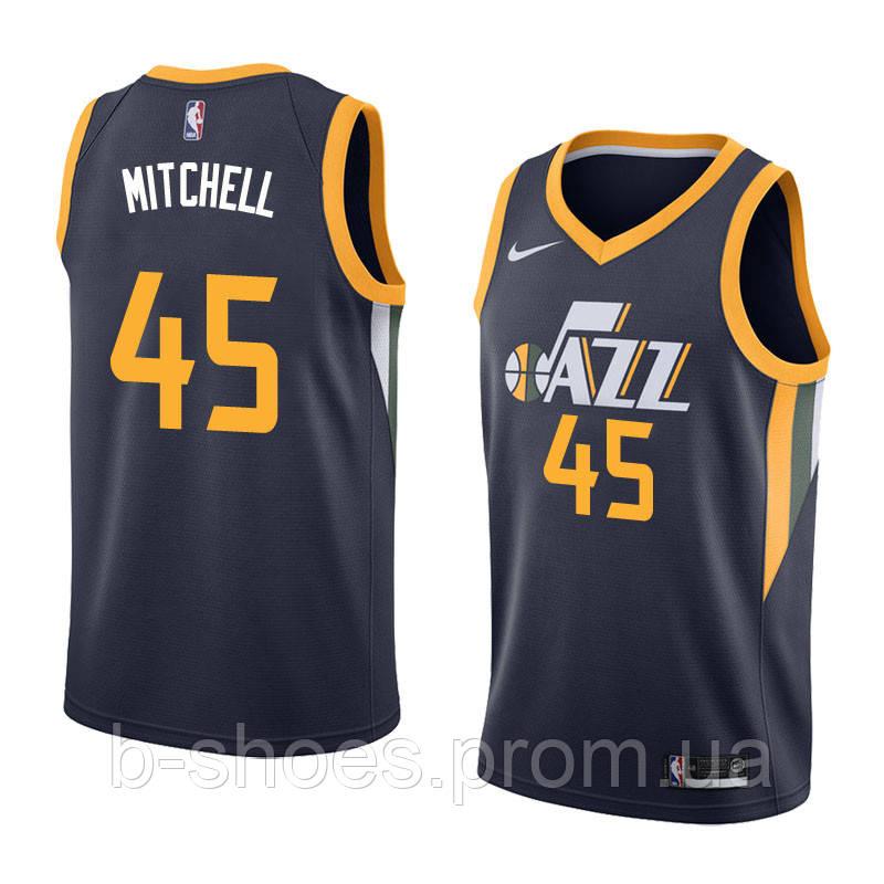Баскетбольная майка Utah Jazz (Donovan Mitchell) Blue
