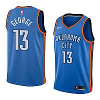Баскетбольная майка Oklahoma City (Paul George) Blue, фото 1