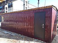 Изготовления строительных бытовок 6х2,5м