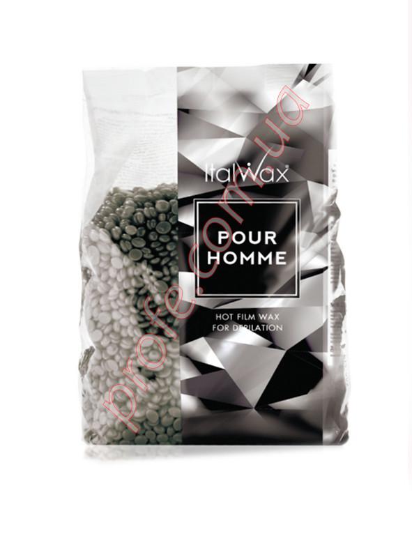 Воск в гранулах ItalWax  Pour Homme  для  жестких волос 1 кг.