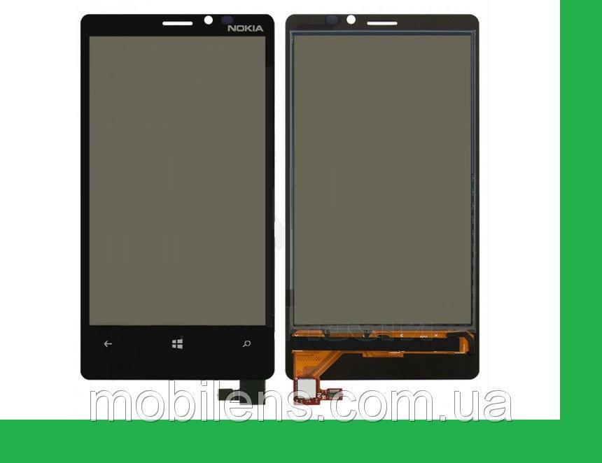 Nokia 920 Lumia Тачскрин (сенсор) черный