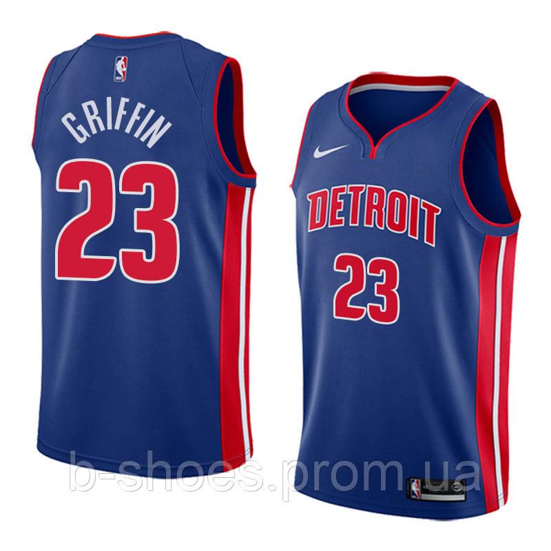 Баскетбольная майка Detroit Pistons (Blake Griffin) Blue