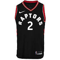 Баскетбольная майка Toronto Raptors (Kawhi Leonard) Black
