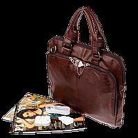 Подарок на новый год для мужа, мужская сумка,кожа.Vormor