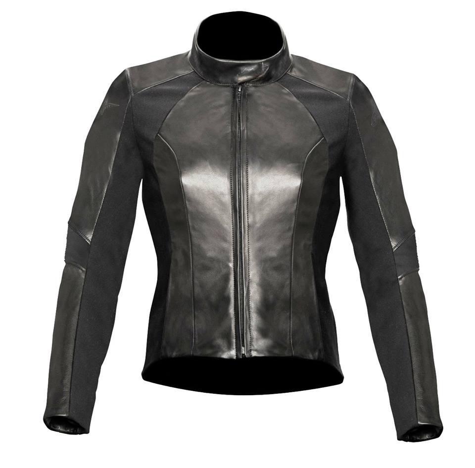 Куртка Alpinestars женская VIKA 44р. кожа black