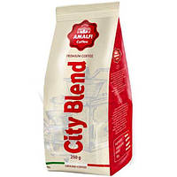 Кофе молотый CITY BLEND 70% высокогорной арабики и 30% азиатской робусты, упаковка 250 г