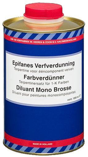 Растворитель Brushthinner for Paint and Varnish, 1 л