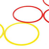 Кольца тренировочные (комплект 12 шт, 3 цвета, 50см) + сумка, фото 3