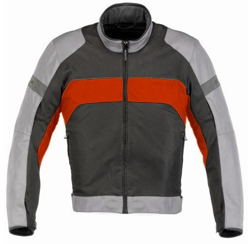 """Куртка Alpinestars XENON AirTX """"L"""" серо-красная текстиль"""