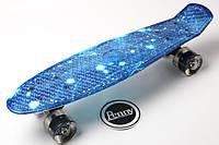 """Скейт PENNY BOARD 22"""" З малюнком Spice Blue (Пенні борд)"""