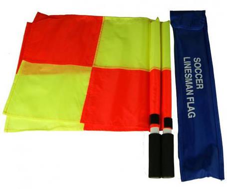 Флаги судейские LINESMEN квадрат, фото 2